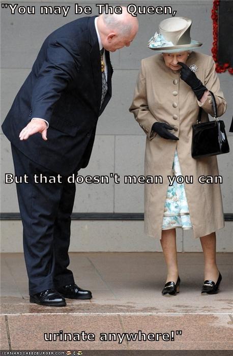 political pictures Queen Elizabeth II - 5355298304