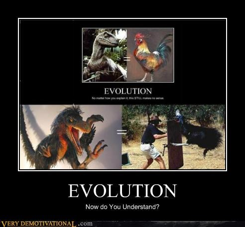 evolution Pure Awesome scary science understand - 5355455488