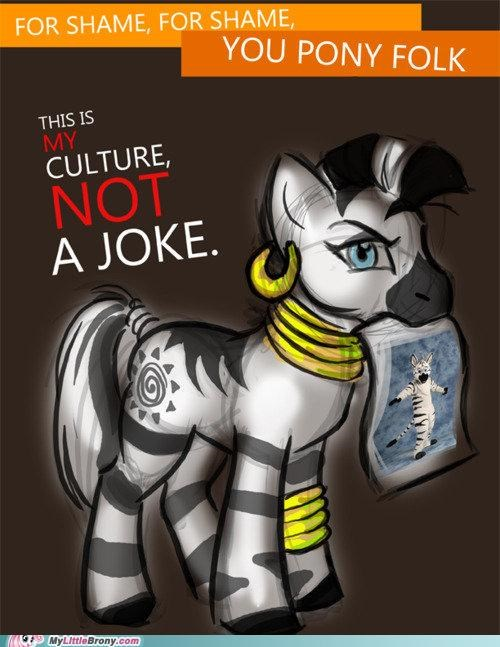 a culture costume meme not a costume not a joke zecora - 5355570176