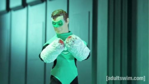 DC,Green lantern,Robot Chicken,special,superheroes,tv shows,Video,vids
