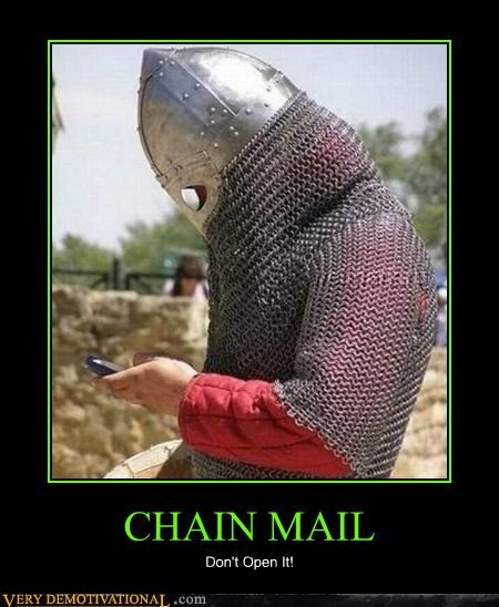 bad idea chain mail email hilarious