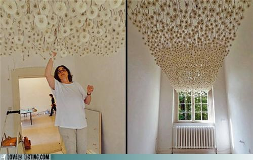 best of the week ceiling dandelions decor flowers - 5355622656