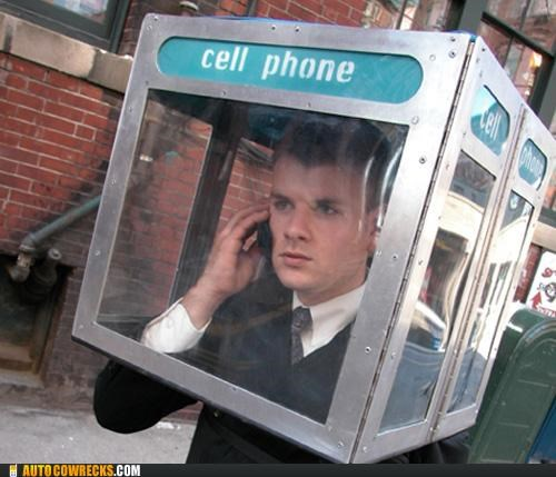 booth cell phone costume mobile phone booth - 5355664640