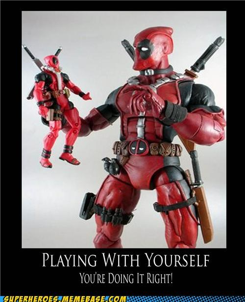accessories deadpool playing with yourself Super-Lols - 5355677696