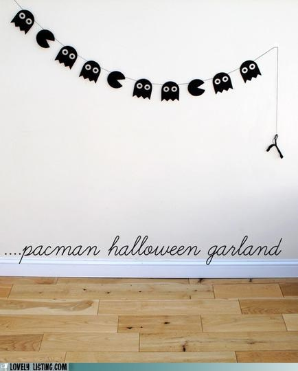 decor garland halloween - 5355780352