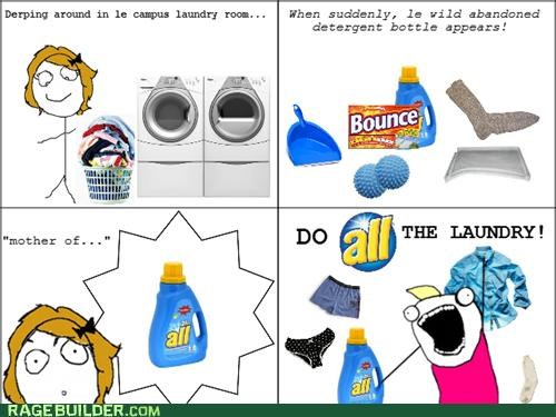 all the things,detergent,laundry,Rage Comics
