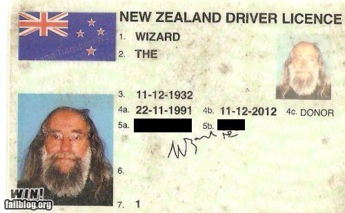 beard id license magic name change nerd wizard - 5355803904