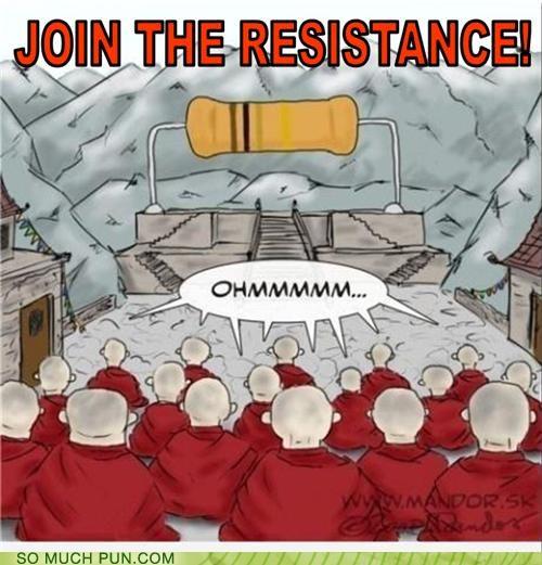buddhism buddhist double meaning Hall of Fame homophone literalism meditation ohm om resistance - 5356106240