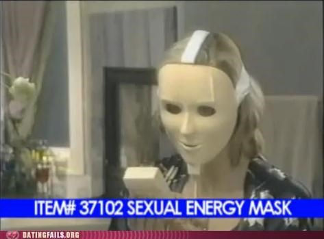 Ad,advertisement,energy,mask,sex,sex toy,sexual energy,TV,We Are Dating
