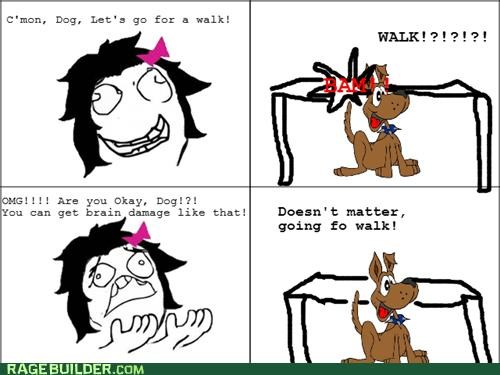 bump dogs Rage Comics wtf - 5356323584