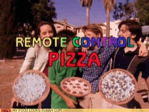 birthday,gift,pizza,remote control