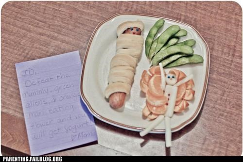 challenge cute food game mom plate - 5356429312