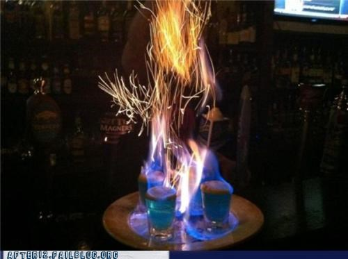 alcohol bar burn challenge drinking expert flaming hard shots - 5356586240
