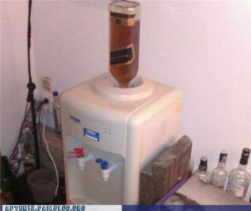 alcohol booze Office water cooler whiskey - 5356645376