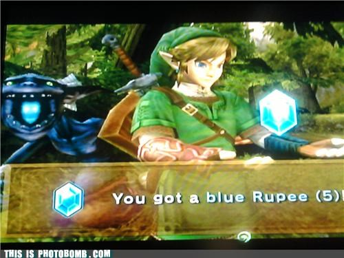 best of week,blue rupee,link,video games,what an ass,wii,zelda