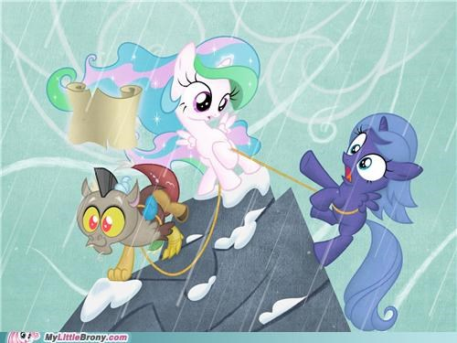 art as kids celestia discord fillies luna - 5356916480