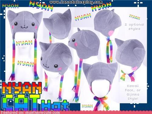 best of the week cat costume halloween hat Nyan Cat - 5357088256