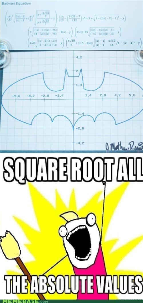 batman,math,Random Heroics,symbol