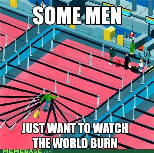 airport burn line man Memes sayings time wait - 5357361152