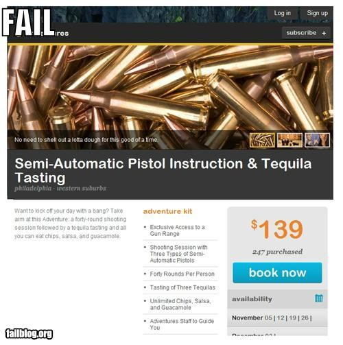 alcohol bad combination drinking failboat guns Hall of Fame stupidity - 5357409536