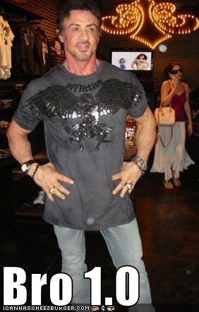 Bro 1.0,OG bros,Sylvester Stallone