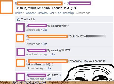 facebook FAIL grammar personality - 5357933824