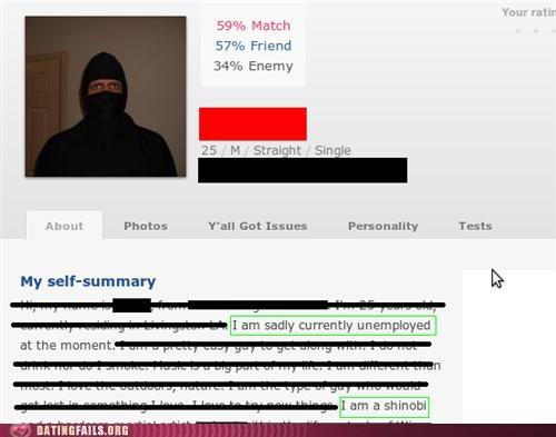 dating site ninja ok cupid profile We Are Dating - 5358187776