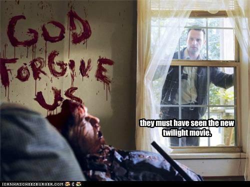 Movie twilight The Walking Dead zombie - 5358205696