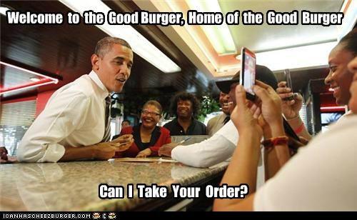 barack obama good burger political pictures - 5358299904