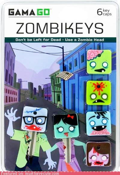 covers faces halloween keys zombie - 5359283200