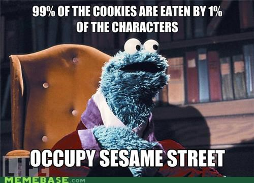 cookies Memes Sesame Street Wall Street - 5359345152