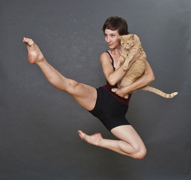 weird animal portraits with their owners that make you wonder why, and what were they thinking
