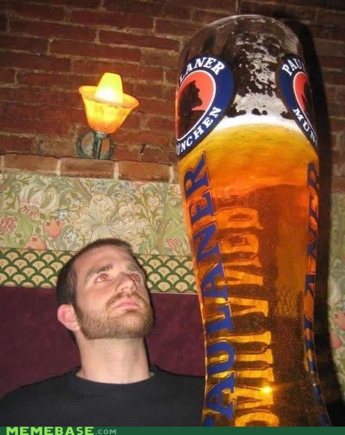 awesome beer booze glass huge wtf - 5359485184