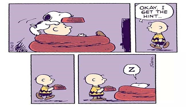 funny comics from snoopy the dog