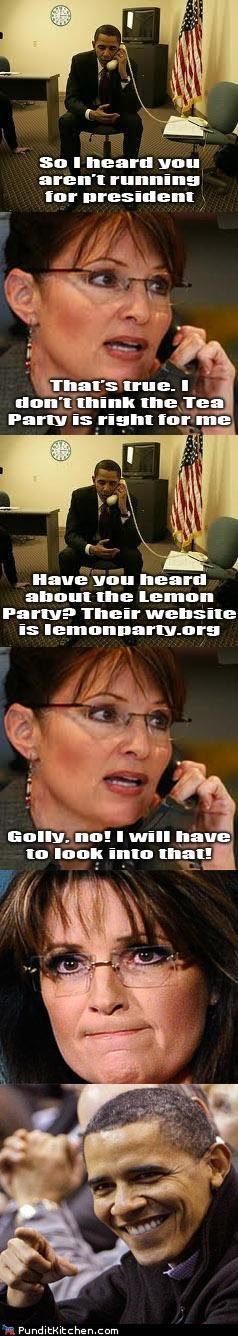 barack obama lemonparty political pictures Sarah Palin - 5359693312