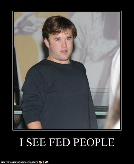 fat food haley joel osment I see dead people the sixth sense