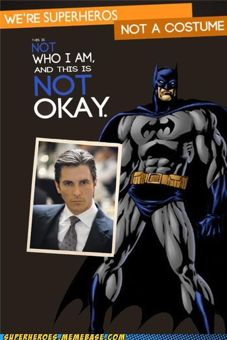 batman bruce wayne costume meme not ok Random Heroics - 5359940096