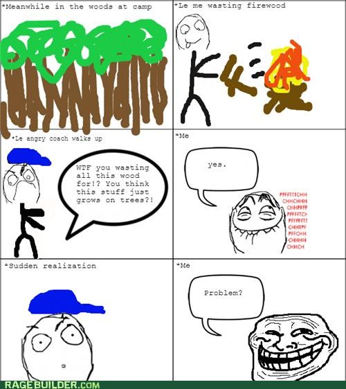 FAIL,firewood,Rage Comics,trees