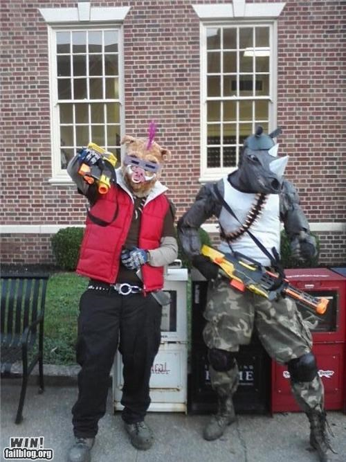 90s,bebop,cartoons,costume,halloween,nerdgasm,rocksteady,TMNT