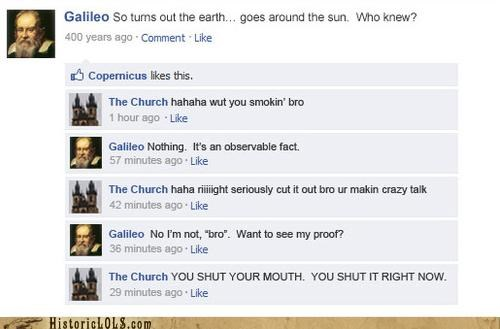 facebook fake funny galileo religion spoof - 5360147200