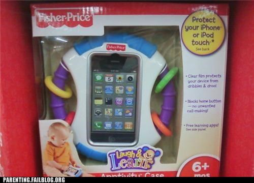 baby gadget iphone ipod naughty or nice Parenting Fail toy wait what - 5360183040