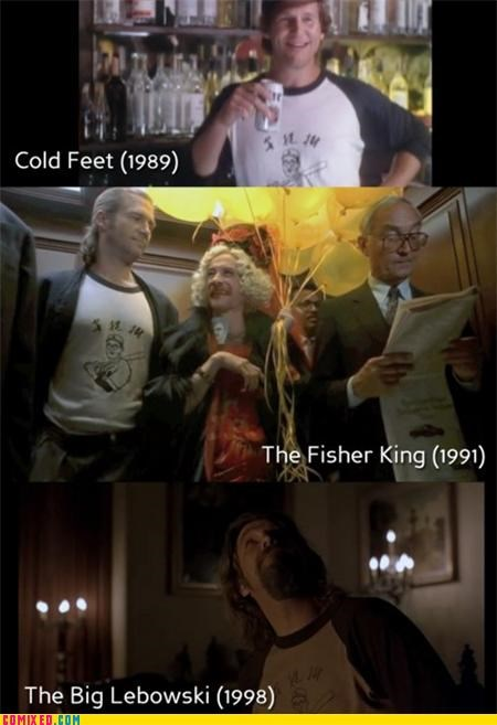 Big Lebowski cold feet fisher king From the Movies jeff bridges movies same shirt - 5360216064