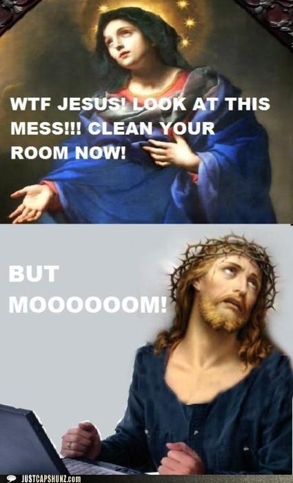 jesus mom mother religious unfair - 5360350464
