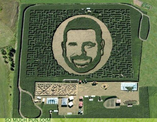 Billy Mays Hall of Fame homophone homophones literalism maize maze - 5360372224