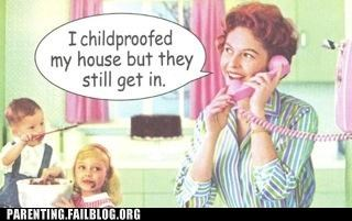 50s child proof comic locks mom Parenting Fail - 5360510464