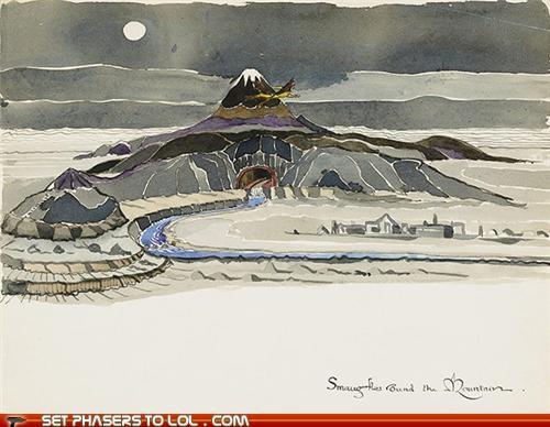 anniversary art book drawings illustrations The Hobbit - 5360777728