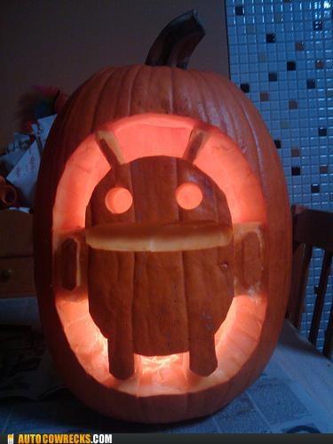 android halloween jack o lanterns pumpkins