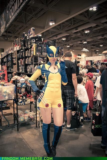 cosplay FanExpo Canada genderswap nice abs wolverine - 5360982016