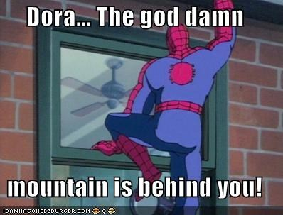 cartoons dora Spider-Man Super-Lols TV