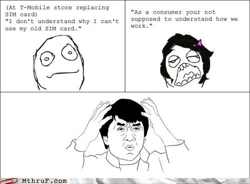 business cell phones jackie chan meme rage comic retail sales